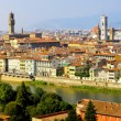 panorama di Firenze — Foto Stock