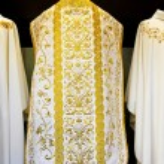 Pope dress — Stock Photo