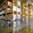 Warehouse shelves — Foto de stock #5078916