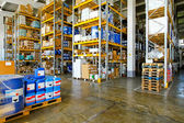 Chemical warehouse — Stock Photo