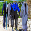 Stock Photo: Scuba suit