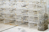 Fish trap cages — Stock Photo
