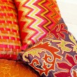 Colourful pillows — Stock Photo #5136940