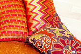 Colourful pillows — Stock Photo