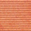 Roof tile pattern — Stock Photo