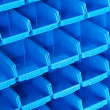 Blue shelf pattern — Stock Photo