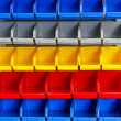 Color shelf - Foto de Stock