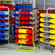 Stock Photo: Colourful rack variety