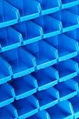 Blue shelf pattern — Stock Photo
