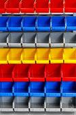 Color shelf — Stock Photo