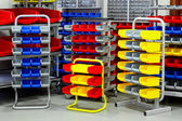 Colourful rack variety — Stock Photo
