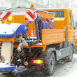 Snow plow - Foto Stock