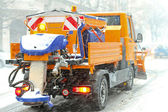 Snow plow — Foto Stock