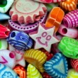 Smile beads — Stock Photo