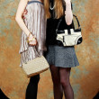 Royalty-Free Stock Photo: Two fashion girls