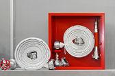 Fire hose — Stock Photo