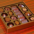 Praline box — Stock Photo
