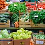 Veggie market — Stock Photo