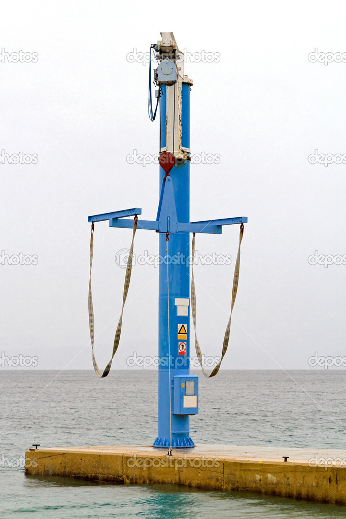 кран балки для лодок