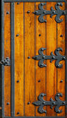 Ironwork hinges — Stock Photo
