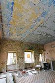 Derelict interior — Stock Photo