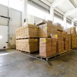 Stock Photo: Storehouse boxes