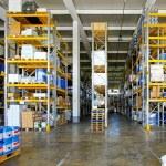 Big warehouse — Stock Photo