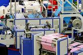 Фабрика полиэтиленового пакета — Стоковое фото