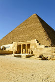 Pyramid of Khufu — Stockfoto