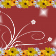 Foto Stock: Flowers frame