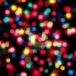 Christmas lights out of focus — Foto de Stock