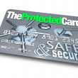Credit Card - Safe and Secure — Stock Photo