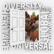 Diversity - Open Door to Many Diverse Cultures - Stock Photo