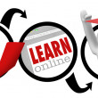 Going Online to Learn - Education - Stok fotoğraf