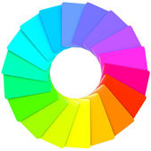 Spirale colorata di swatch — Foto Stock