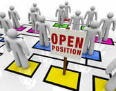 Open Position in Organizational Chart — Stock Photo