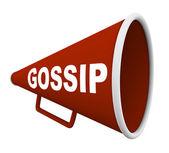 Gossip - Word on Bullhorn — Stock Photo