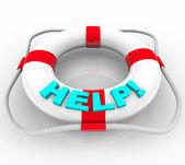 Help - Life Preserver — Stock Photo