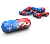 Global Health Care - Capsule Pills — Stock Photo