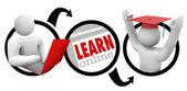 -eğitim öğrenmek için online gidiş — Stok fotoğraf