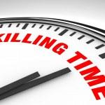 Killing Time - Clock — Stock Photo