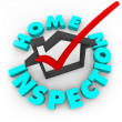 Stock Photo: Home Inspection - Check Box