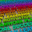 Principles of Success - Colorful Words — Stock Photo #4441048