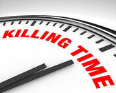 Killing Time - Clock — Stok fotoğraf