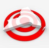Target New York - Marketing Concept — Stock Photo