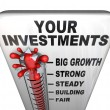 Photo: Thermometer - Your Investments Making Money
