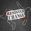 Resisting Change Leads to Obsolescence or Death — Stock Photo #5078752