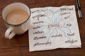 Ethics related topics — Stock Photo