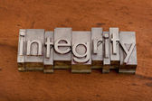 Integrity or ethics concept — Stock Photo