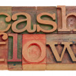 Cash flow — Stockfoto